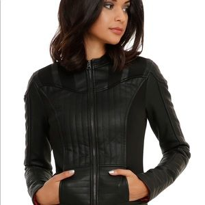 HER UNIVERSE Star Wars Vader Vegan Leather Jacket